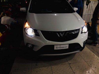 VinFast Fadil được nâng cấp đèn pha bi-xenon sau khi về chủ mới a5