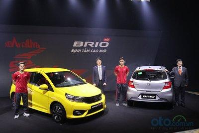 Honda Brio 2019 chính thức gia nhập sân chơi xe cỡ nhỏ hạng A tại Việt Nam a2
