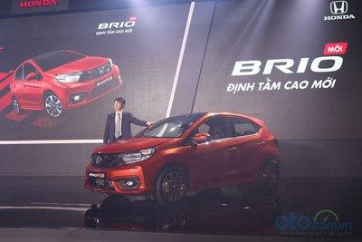 Chương trình khuyến mãi đối với khách hàng đặt mua Honda Brio kết thúc ngay trước ngày ra mắt 18/6.