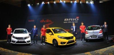 Honda Brio 2019 mở bán tại Việt Nam từ tháng 6/2019...