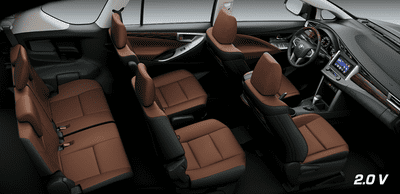 Nội thất Toyota Innova 2.0V 2019...