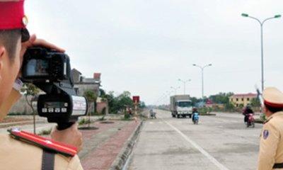 Những đoạn đường cho phép cảnh sát giao thông bắn tốc độ 1a