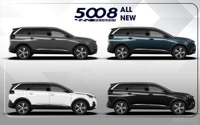 Màu xe Peugeot 5008 2019 a1