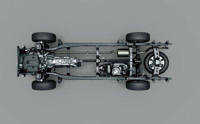 SUV là xe thể thao đa dụng, có kết cấu khung gầm rời với thân xe.