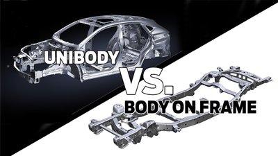 Xe SUV và CUV có kết cấu khung gầm xe khác nhau.