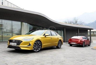 Hyundai Sonata 2020 màu vàng