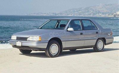 Hyundai Sonata thế hệ thứ 2.