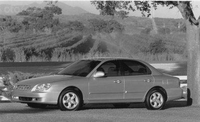 Hyundai Sonata thế hệ thứ 4.