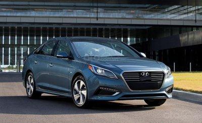 Hyundai Sonata Plug-in Hybrid.
