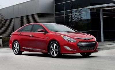 Hyundai Sonata Hybrid 2011.