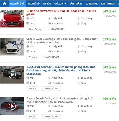 Suzuki Swift giảm giá sốc, xe hạng B rẻ hơn hạng A a5