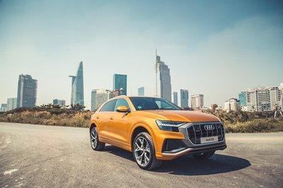 Bắt gặp chiếc Audi Q8 2019 đầu tiên ra biển, ung dung dạo phố Việt A3