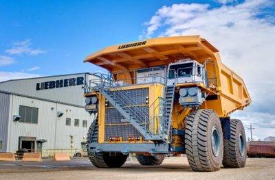 Liebherr T284 đứng thứ 4 trong top 5 xe tải lớn nhất thế giới hiện nay.