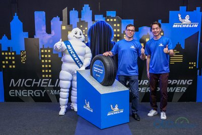 MICHELIN Energy XM2+ có màn ra mắt tại Malaysia.