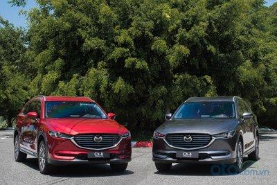 Mazda CX-8 2019 quay trở lại giá thực, tăng cao nhất 125 triệu đồng a1