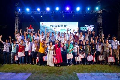 Các thành viên tham gia đã có một đêm đáng nhớ cùng Mitsubishi Motors Việt Nam tại Tuần Châu, Hạ Long .