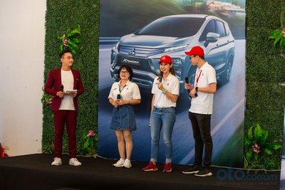 """cuộc thi """"Thử thách Lái xe tiết kiệm nhiên liệu – Eco Drive Challenge cùng Mitsubishi Xpander"""" năm nay có sự góp mặt của 2 khách mời: """"nữ hoàng Drift"""" Leona Chin và chị Phan Thị Yến - Quán quân năm 2017."""
