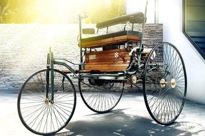 Benz Patent Motorwagen là ô tô 3 bánh có kiểu dáng độc đáo.
