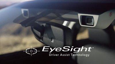Mắt thần Eye Sight của Subaru.