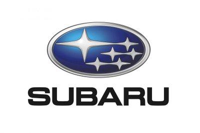 Logo 6 ngôi sao rất dễ nhận diện của hãng xe Subaru.