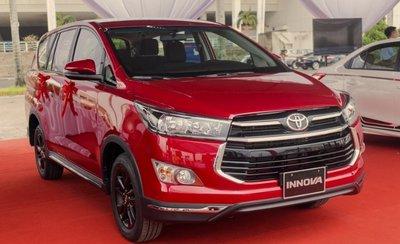 Toyota Innova là xe MPV 7 chỗ được ưa chuộng nhất hiện nay tại nước ta.