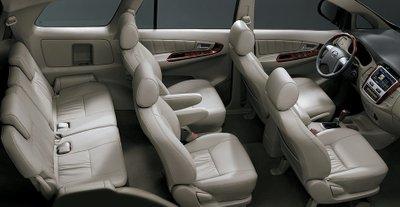 Không gian rộng rãi, thoải mái và tiện nghi là ưu điểm của dòng xe MPV.