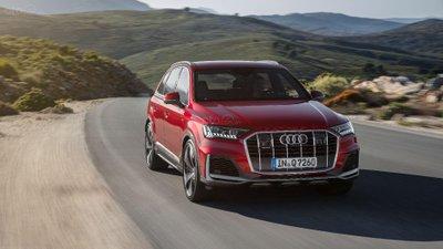 Audi Q7 2020 đầu xe