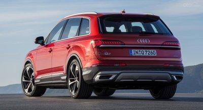 Audi Q7 2020 đuôi xe