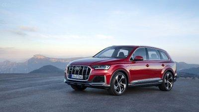 Audi Q7 2020 đầu xe 3