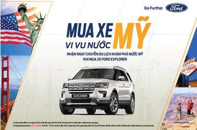 Khách hàng mua xe Ford Explorer được tặng quà lên đến 80 triệu đồng a1