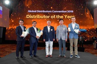 """Hyundai Thành Công lần 3 liên tiếp nhận giải thưởng """"Nhà phân phối toàn cầu của năm""""."""