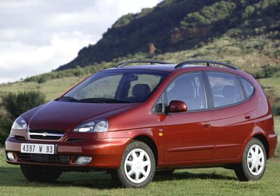 Ngoại thất Chevrolet Vivant 2011...