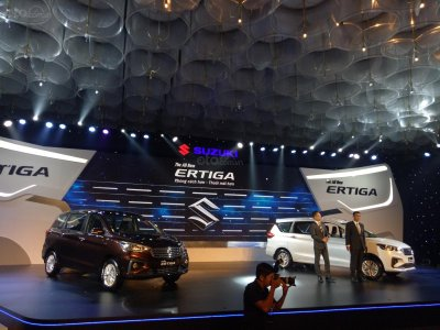 Chi tiết hình ảnh của Suzuki Ertiga 2019.