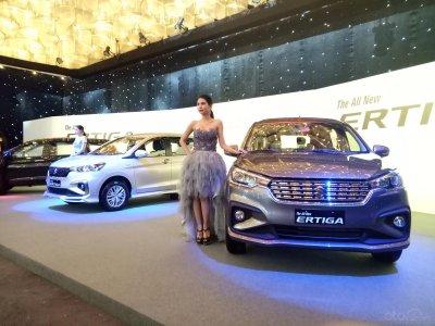 Cận cảnh Suzuki Ertiga 2019 tại buổi lễ ra mắt chính thức ngày 29/6.