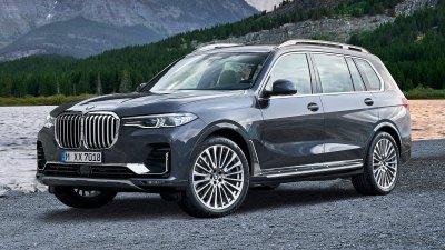 Giá xe BMW X7 2019 mới tại đại lý khởi điểm từ 6,85 tỷ đồng, nhận giao xe ngay.