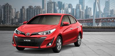 Giá xe Toyota Vios mới nhất tháng 10/2019.