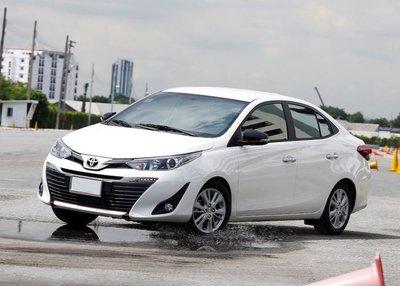 Giá niêm yết sau khi giảm của Toyota Vios so với các đối thủ khác trong phân khúc như thế nào?.