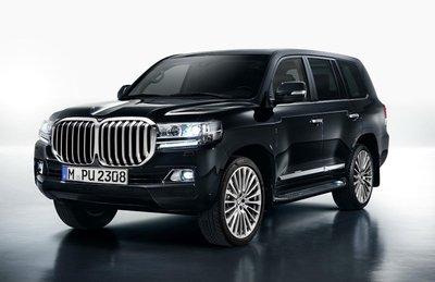 Sắp có SUV BMW phát triển trên nền tảng Toyota Land Cruiser? 1a