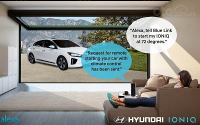 Hyundai hợp tác ở Alexa (2016).