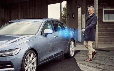 Chìa khóa Số của Volvo (2016).