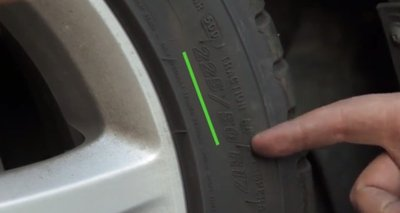 Cách đọc thông số lốp - Tỷ lệ chiều rộng và các cạnh.
