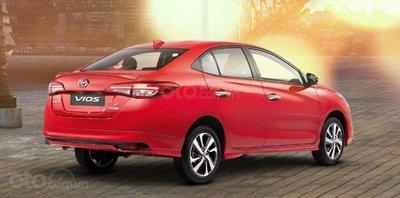 Ưu nhược điểm của Toyota Vios 2019 - Kiểu dáng hấp dẫn