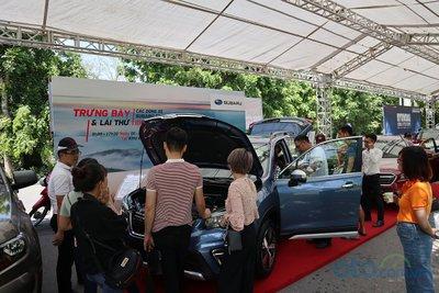 Sáng nay (6/7), Hội chợ Oto.com.vn lớn nhất miền Bắc chính thức khai mạc - Ảnh 11.