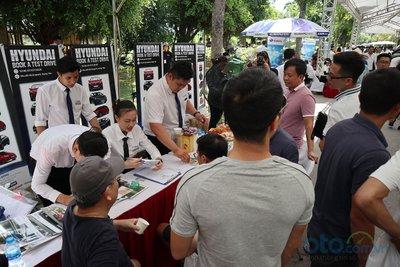Sáng nay (6/7), Hội chợ Oto.com.vn lớn nhất miền Bắc chính thức khai mạc - Ảnh 12.