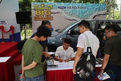 Sáng nay (6/7), Hội chợ Oto.com.vn lớn nhất miền Bắc chính thức khai mạc - Ảnh 8.