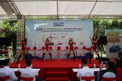 Sáng nay (6/7), Hội chợ Oto.com.vn lớn nhất miền Bắc chính thức khai mạc - Ảnh 2.