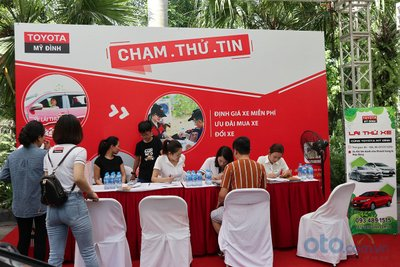 Sáng nay (6/7), Hội chợ Oto.com.vn lớn nhất miền Bắc chính thức khai mạc - Ảnh 6.