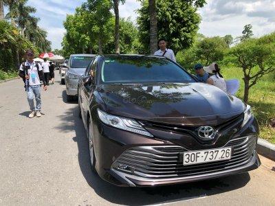 Toyota Camry 2019 xuất hiện tại đường lái thử