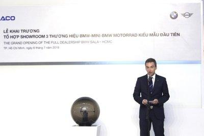 Christopher Wehner, Giám đốc điều hành BMW Châu Á