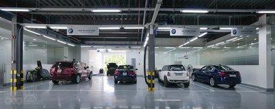 Xưởng dịch vụ BMW 11